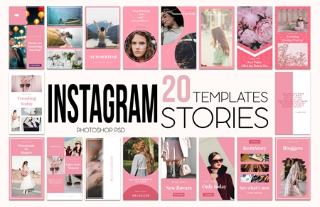 Instagram Stories Pack 3585554 - FreePSDvn