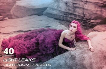 40 Light Leaks Lightroom Presets 3841325 6
