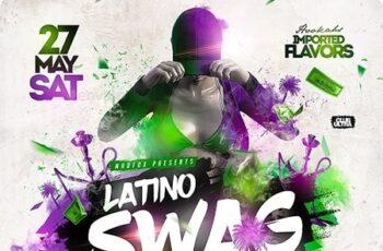 Reggaeton Latino Swag Party Flyer 23896026 6