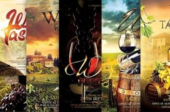 Wine Flyer Bundle 23907117 14
