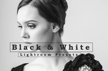 Black and White Lightroom Presets 6