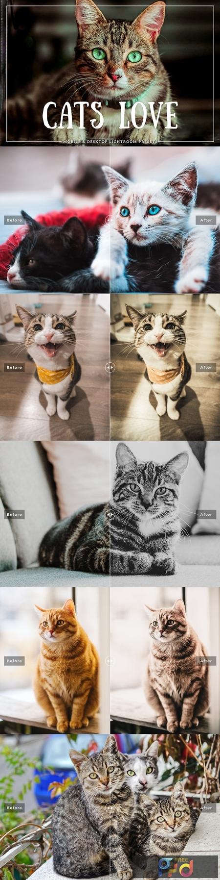 Cats Love Mobile & Desktop Lightroom Presets 3756356 1