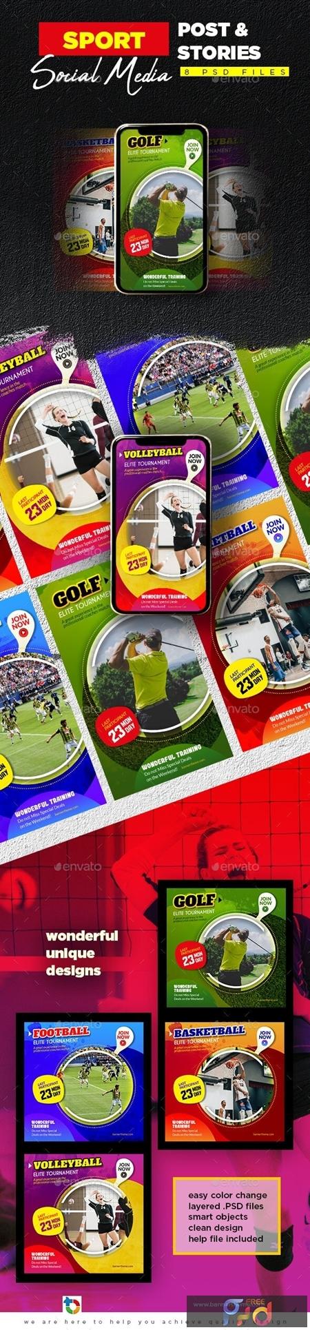 Sport Social Media Post & Stories 23970910 1