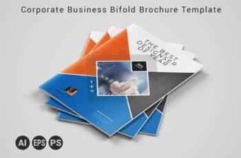 Corporate Business Bifold Brochure Template 3589114 4