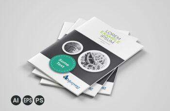 Corporate Business Bifold Brochure Template 3589125 7
