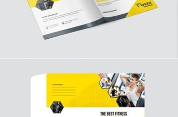 Gym And Fitness Presentation Folder 15