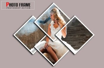 Photo Frame Photoshop Actions 7
