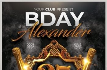 Bday Party Flyer 23973411 4