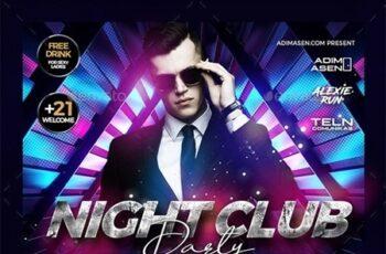 Night Club Flyer 23972037 6