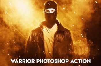 Warrior Photoshop Action 6