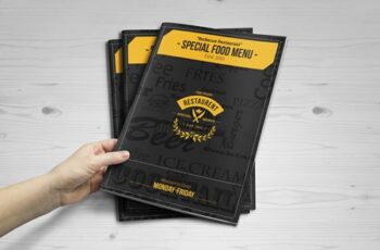 Special Food Menu Brochure -12 Pages 3816482 6