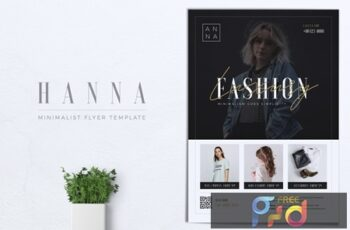 HANNA Minimal Fashion Flyer 7
