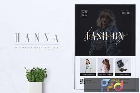 HANNA Minimal Fashion Flyer 1