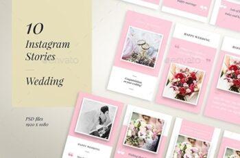 IG Story Wedding Wishes - 10 Templates 4