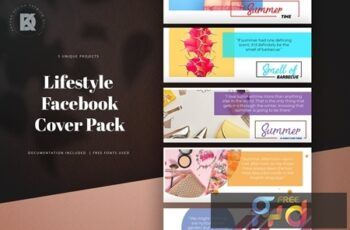 Lifestyle Facebook Cover Pack 10