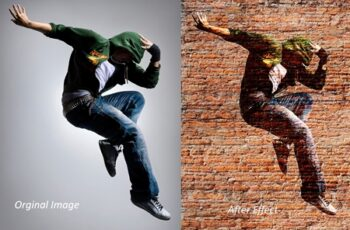 Wall Art - Photoshop Action 3758594