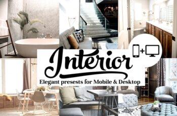 Interior Presets - Lightroom mobile and Desktop 2