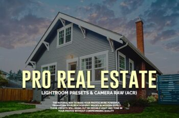 PRO Real Estate LR Presets and Camera Raw(ACR) 5