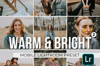 Warm and Bright Mobile Presets 3320856 8