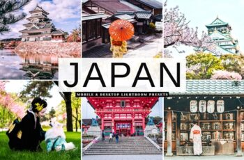 Japan Mobile & Desktop Lightroom Presets 7