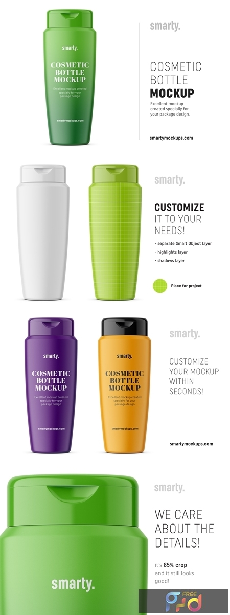 Matt conditioner bottle mockup 3348980 1