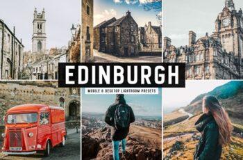 Edinburgh Mobile & Desktop Lightroom Presets 2