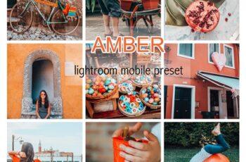 AMBER LIGHTROOM MOBILE PRESET 3837945 2