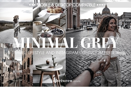 Minimal Grey Lightroom Mobile Preset 3836032 - FreePSDvn