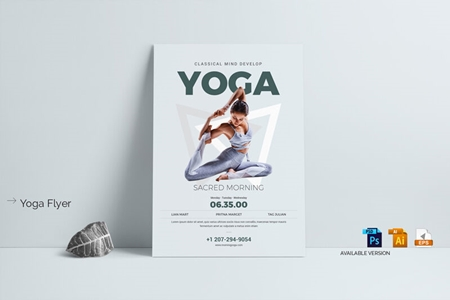 Yoga Flyer 3592476 Freepsdvn