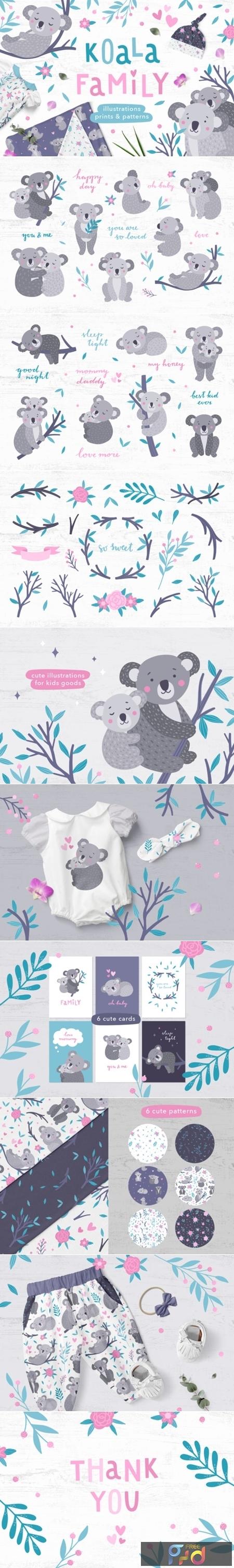 Koala Family Illustrations 1508118 1