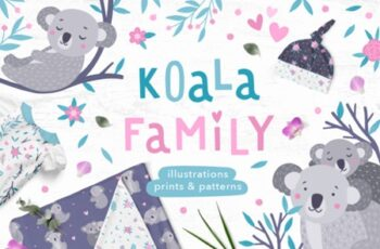 Koala Family Illustrations 1508118 10
