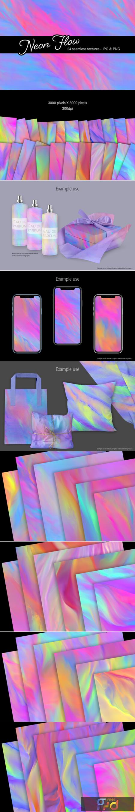 Neon Flow - Graphics 1508679 1