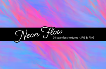 Neon Flow - Graphics 1508679 2