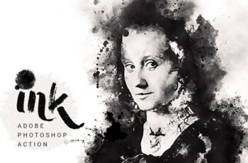 Ink Art - Photoshop Action 23897192 1
