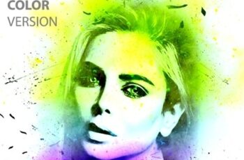 Ink Portrait Photoshop Action 23888119