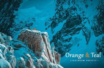 Orange & Teal Lightroom Presets 2