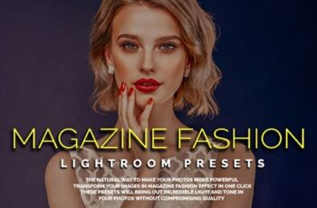 50 Magazine Fashion Lightroom Presets 6