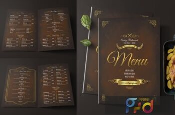 Elegant Restaurant Menu 9
