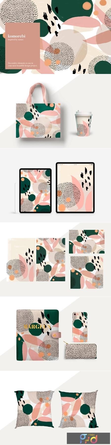 Komorebi Organic Patterns Set 1505844 1
