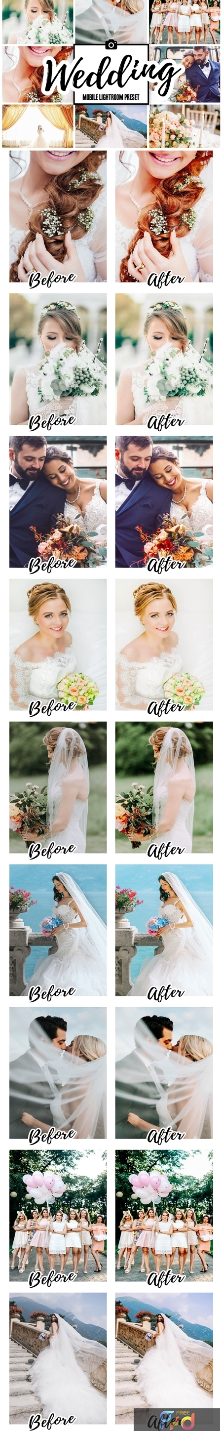 WEDDING Mobile Lightroom Presets 3858882 1