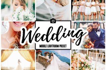 WEDDING Mobile Lightroom Presets 3858882 2