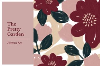 The Pretty Garden Seamless Pattern Set 1505878 4