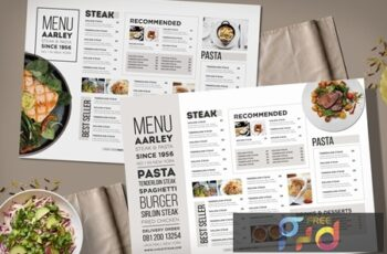 Typography Menu 8