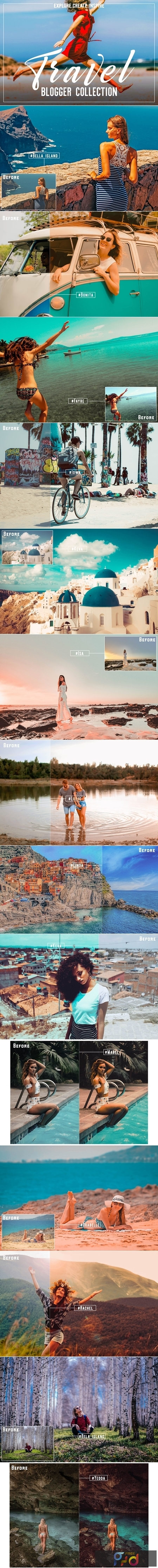 130+ Travel Blogger Lr//Acr Presets 3043539 1