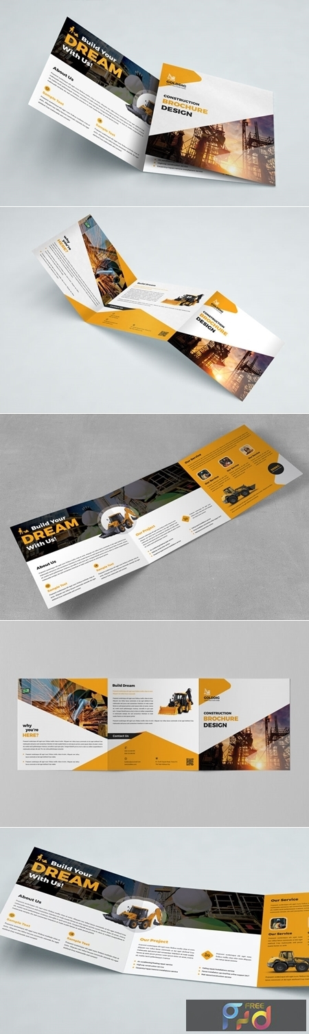 Construction Square Trifold Brochure 3594465 1