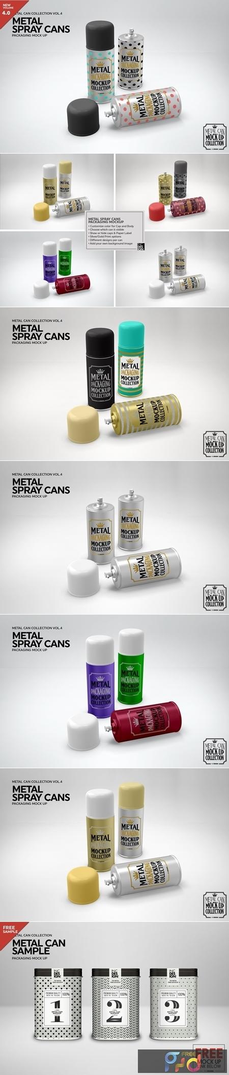 Metal Spray Cans Packaging Mockup 3884310 1
