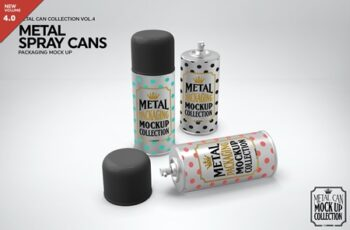 Metal Spray Cans Packaging Mockup 3884310 2