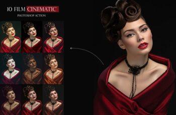 10 Film Cinematic Photoshop Action 10