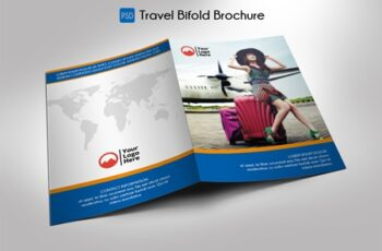 Travel Bifold Brochure Template 2