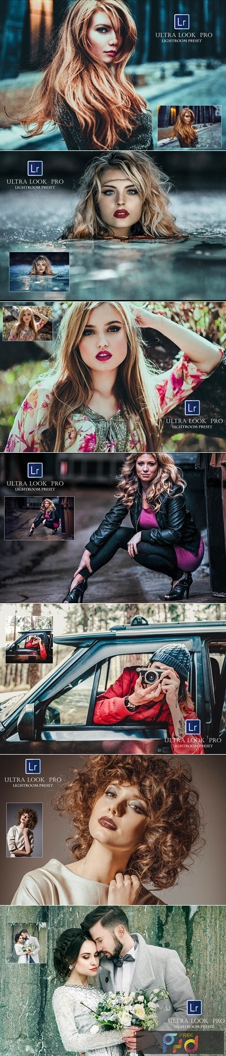Ultra Look Pro Lightroom Presets 1